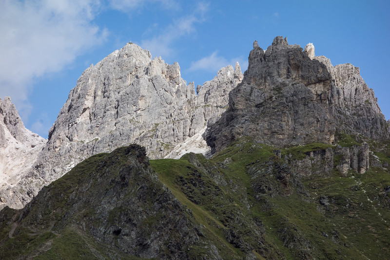 The Kalkwand supposedly has a trail to the summit.?