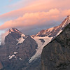 Eiger and Monch at Sunset