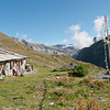 Day 10 is a long hard one, so a tea break at Refuge de Chaux