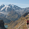 Grand Combin and Lac Louvie