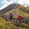 Climbing the Bilken Grat