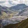 Glacier-like limestone karst formation
