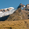 The Aiguille des Glaciers from the col
