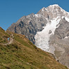 The Freney face Mont Blanc de Courmayeur, the Innominate Ridge and, oh yes, Linda