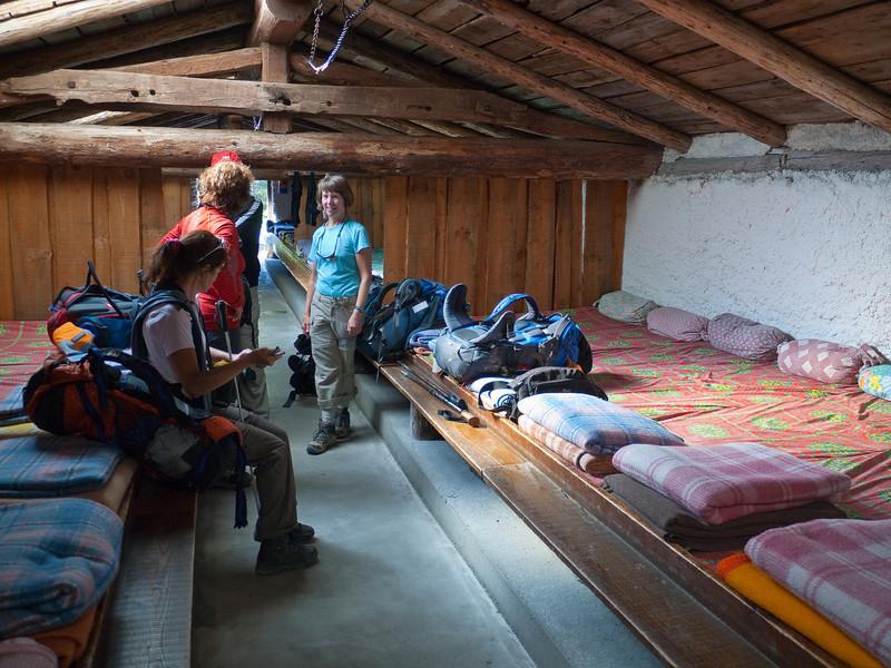 We exult over the amenities at the Refuge des Mottets, a former cow barn