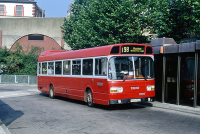 Trent 456 Stockport Bus Station Sep 91