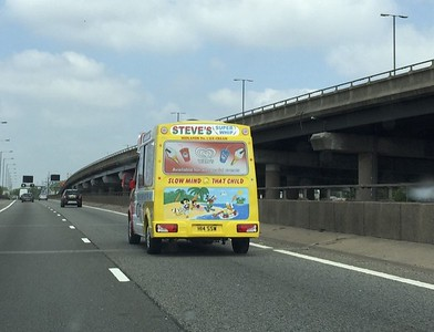 Follow that ice cream truck.