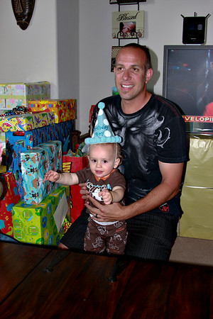 Trenton's First Birthday Gifts, 5-10