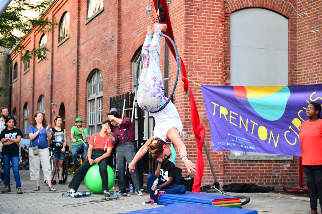 . Jessica Stanley is seen performing at Art All Night in Trenton on June 18,2016. (For The Trentonian - Scott Ketterer)