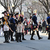 Hessians react to cannon fire during the First Battle of Trenton Reenactment on Dec. 31, 2016 (Scott Ketterer - The Trentonian)