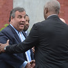 Governor Chris Christie speaks on Fountain Ave in Trenton Tuesday to unveil an initiative to fight crime and blight in the capital city.<br /> John Berry - The Trentonian