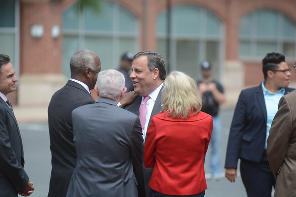 Christie and Jackson press conference