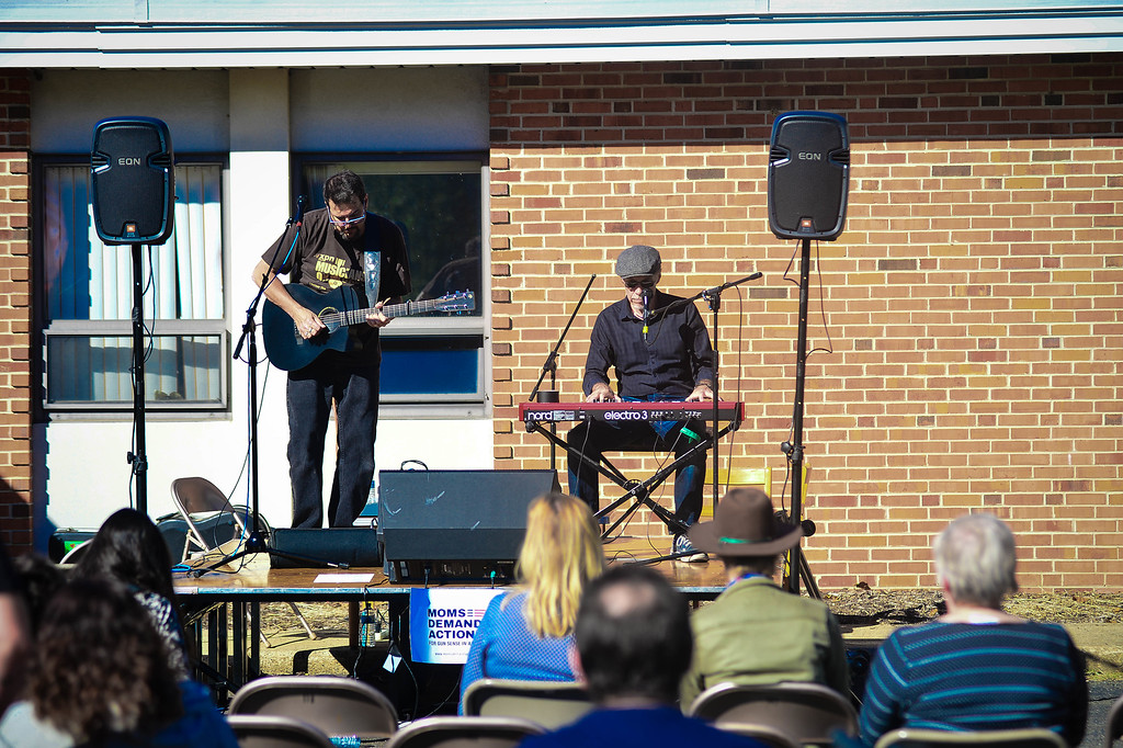 . The Soul Custody Duo performs at the Concert Across America to End Gun Violence on Sunday Sept. 25, 2016 in Ewing. (Scott Ketterer - The Trentonian)