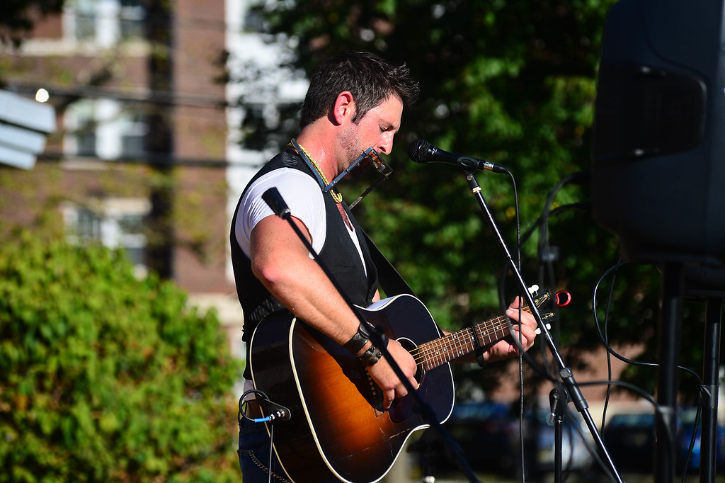 . the Williamsboy performs at the Concert Across America To End Gun Violence on Sunday Sept. 25, 2016 in Ewing. (Scott Ketterer - The Trentonian)