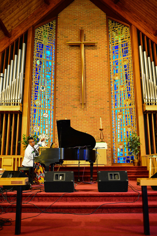 . Miche Braden performs at the Concert Across America To End Gun Violence o Sunday Sept. 25, 2016 in Ewing. (Scott Ketterer - The Trentonian)