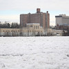 The Trenton Water Works building seen from across the frozen Delaware Monday morning. <br /> John Berry - The Trentonian