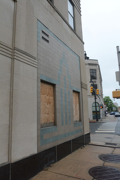 The exterior of 101 N. Broad St in Trenton which <br /> will be fixed up for use by Mercer County Community College's Trenton campus. <br /> John Berry — The Trentonian