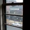 The view from inside 101 N. Broad St in Trenton shows the main building of the James Kerney Campus. 101 will be fixed up for use by Mercer County Community College's Trenton campus. <br /> John Berry — The Trentonian
