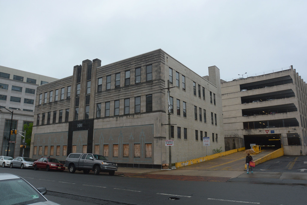 . The exterior of 101 N. Broad St in Trenton which will be fixed up for use by Mercer County Community College�s Trenton campus. 
