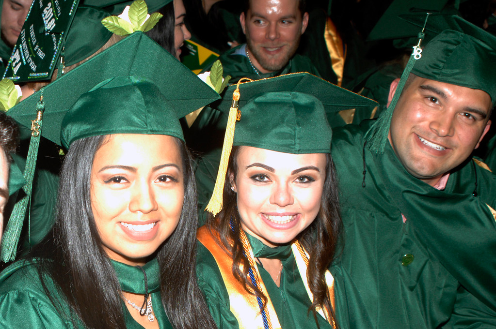 . Graduates during the MCCC ceremony.Courtesy of Mercer County Community College