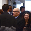 State Assemblyman Reed Gusciora talks to people at the Ewing Community Center where democrats met to fill the 15th Legislative District Assembly seat vacated by Liz Muoio.<br /> John Berry - The Trentonian