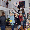 People tour a house on Mercer St during the 51st Annual Mill Hill Holiday House Tour on Saturday. greg slaboda photo