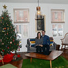 Kat and Jon Reischl`s house on Jackson st was one of the houses open for tours during th 51st Annual Mill Hill Holiday House Tour. gregg slaboda photo