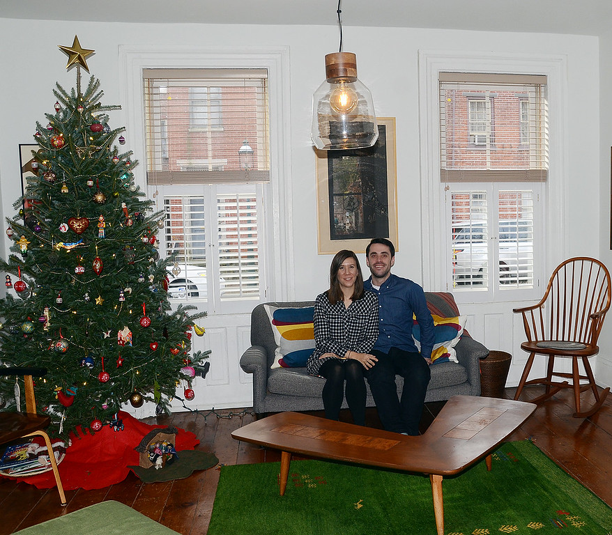 . Kat and Jon Reischl`s house on Jackson st was one of the houses open for tours during th 51st Annual Mill Hill Holiday House Tour. gregg slaboda photo