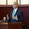 New Jersey Senator Cory Booker was a guest speaker at a Naturalization Ceremony held at the Federal Courthouse in Trenton Monday. <br /> John Berry - The Trentonian