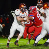 Pennsbury`s Andrew Basalyga(l) carries the ball against Neshaminy. gregg slaboda photo