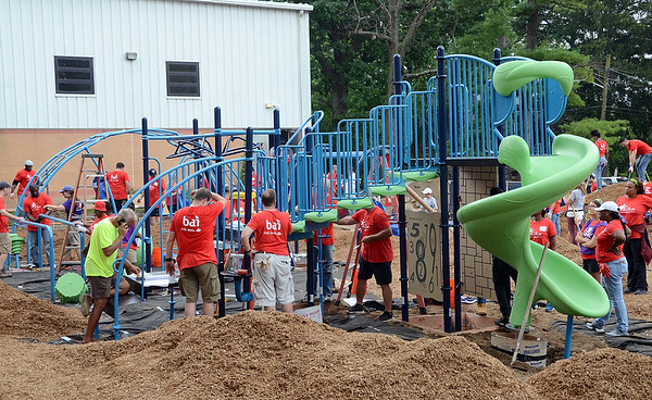 New  Playground  at Foundation  Academy Charter Sch