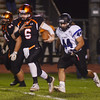 Pennsbury`s Zach Demarchis picks up yardage against Central Bucks South. gregg slaboda photo