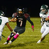 Allentown`s Dan Merkel(7) on the run against Steinert. gregg slaboda photo