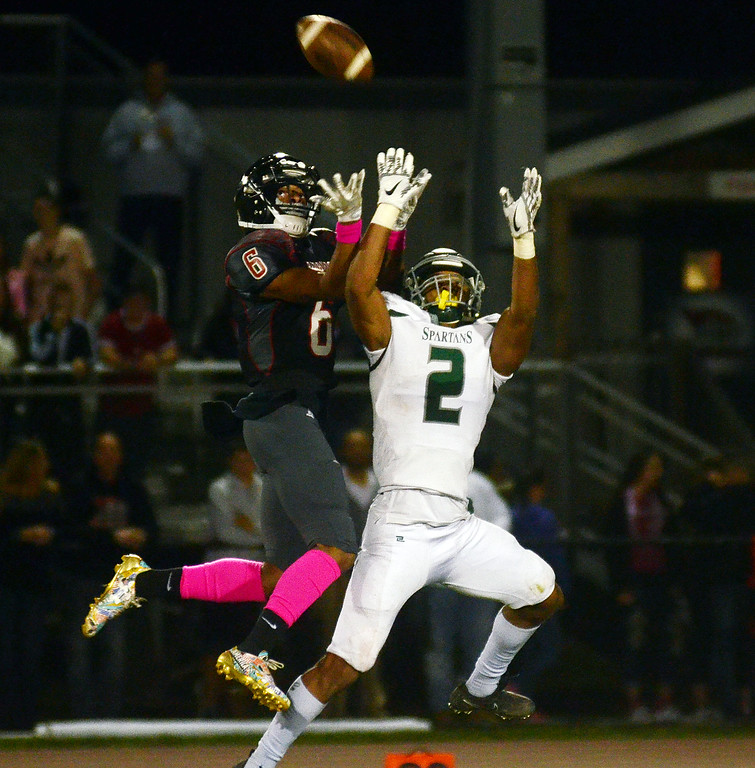 . Steinert`s Jordan Morrison(r)breaks up a pass to Allentown`s Sadik Queen. gregg slaboda photo