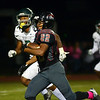 Allentown`s Rahsaan Emory(22) carries the ball against Stienert. gregg slaboda photo