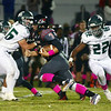Allentown`s Dan Merkel (7) carries the ball against Steinert. gregg slaboda photo