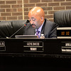 Superintendent Frederick McDowell reads a statement at the Trenton Board of Education meeting Monday. <br /> John Berry — The Trentonian