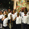 Trenton youth sing Christmas carols during the city's annual tree lighting ceremony. <br /> John Berry - The Trentonian