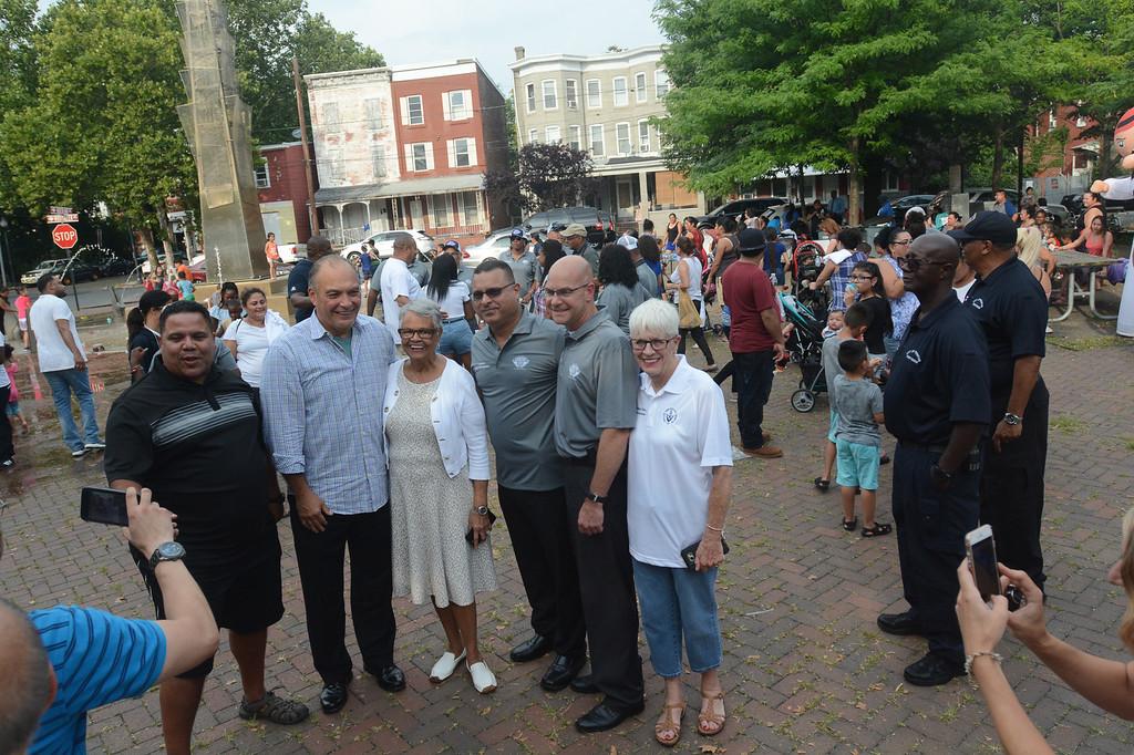 . Trenton\'s National Night Out celebration.  John Berry -- The Trentonian