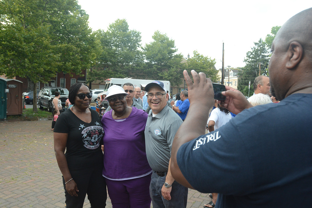 . Trenton\'s National Night Out celebration.  John Berry -- The Trentonian