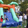 The inflatable attractions were a big draw Tuesday night at National Night Out in Trenton at Columbus Park. <br />  <br /> John Berry - The Trentonian