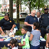 Mercer County Sheriff's Department gave our toys and stickers to the kids at the National Night Out event at Columbus Park in Trenton Tuesday. <br /> John Berry - The Trentonian