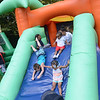 The inflatable attractions were at hit at the  National Night Out event at Columbus Park in Trenton Tuesday. <br /> John Berry - The Trentonian