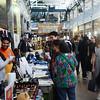 People check out the Trenton Punk  Rock Flea Market  on Saturday. gregg slaboda photo