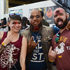 L-R- Andrea Jensen,Kash and Matt DiBenedetto attend the Trenton Punk Rock Flea Market all ready for Halloween. gregg slaboda photo