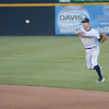 Trenton Thunder's Nick Solak throws during Friday night's game at Arm & Hammer Park in Trenton. <br /> John Berry — The Trentonian