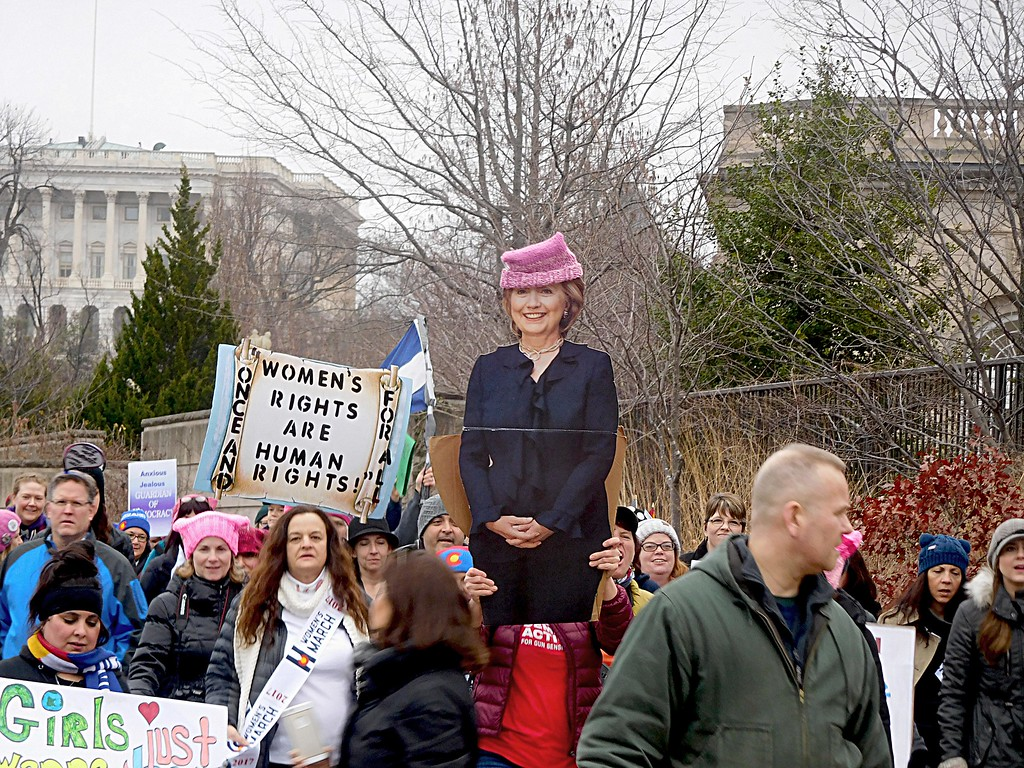 . Women\'s March in Washington D.C. on Saturday January 20, 2017. (Submitted photo - Tammy Duffy)