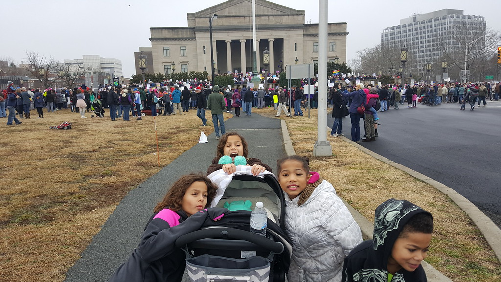 . Women\'s March In Trenton (Submitted photo - Gracie Leal)