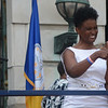 Trenton West Ward Council Member Robin Vaugh at Sunday's inauguration ceremony on Sunday. <br /> John Berry -- The Trentonian