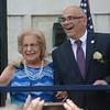 Trenton Mayor Reed Gusciora with his mother. <br /> John Berry -- The Trentonian
